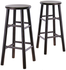 Swell Black Bar Stool Ncnpc Chair Design For Home Ncnpcorg